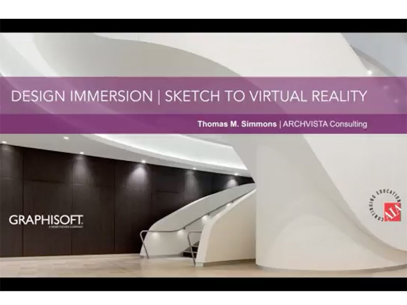 GRAPHISOFT presents cutting edge virtual reality webinar