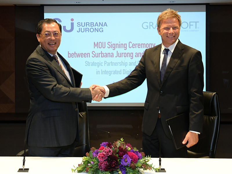 Excited about Surbana Jurong & GRAPHISOFT strategic partnership