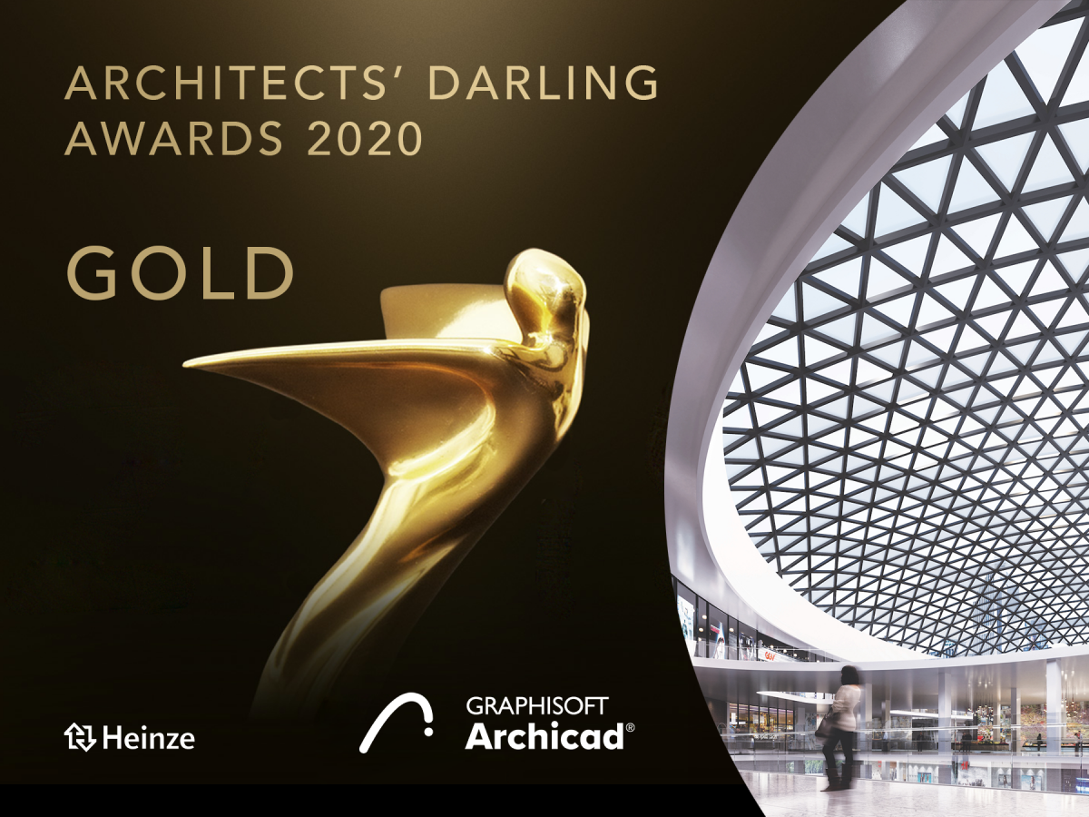 Archicad Wins Architects' Darling Award 2020