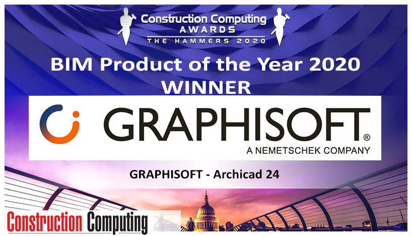 archicad 24 wins the hammers 2020