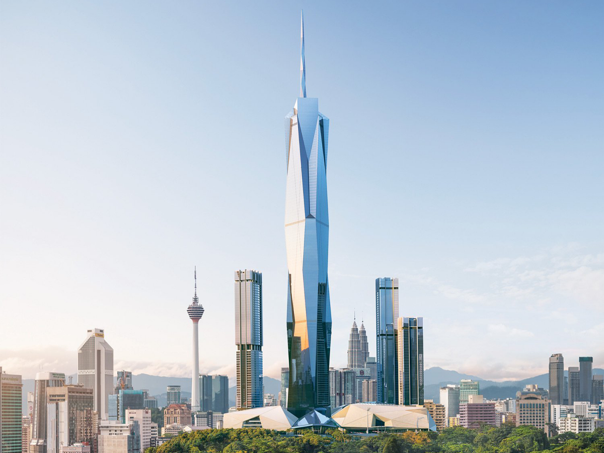 Second Tallest Building Designed in Archicad